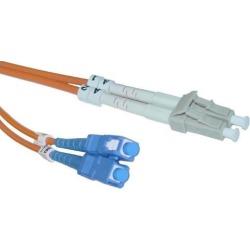 Fiber Optic Cable, LC / SC, Multimode, Duplex, 62.5/125, 7 meter (22.9 foot)