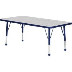 Mahar Manufacturing N4272NV-SB Rectangle Activity Table with Grey Nebula Top and Navy Edge, 42 x 72 in. found on Bargain Bro India from Newegg Canada for $547.54