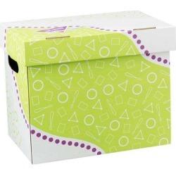 Trend Folder/File Storage Box Letter Sizes 12-1/4'x8'x10-1/4' T7001