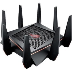 ASUS GT-AC5300 Rapture Wireless-AC5300 Tri-band Gaming Router - Best Solution for VR Gaming and 4K Streaming