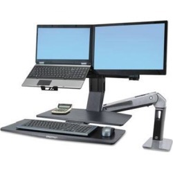 Ergotron WorkFit-A Sit-Stand Workstation with Worksurface+ - ERG24316026