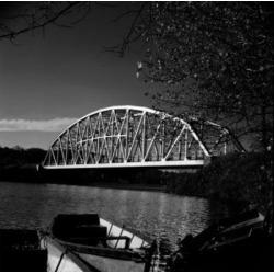 Posterazzi SAL255424694 USA Connecticut Newtown Bridge on Housatonic River Poster Print - 18 x 24 in.