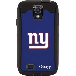 OtterBox Defender Case for Samsung GALAXY S4 - Retail Packaging - NFL Giants (Black New York Giants NFL Logo)