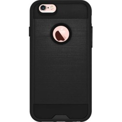 Amzer Tough Armor iPhone 6s Case with Extreme Heavy Duty Protection and Air Cushion Techonology for iPhone 6s/ iPhone 6 - Black/ Black