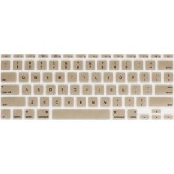 Unique Bargains Champagne Gold Soft Silicone Keyboard Film Cover for Apple MacBook Air Pro 11 found on Bargain Bro Philippines from Newegg Business for $5.71