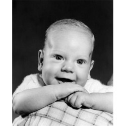 Posterazzi SAL2559469B Portrait of Baby Boy Smiling Poster Print - 18 x 24 in.
