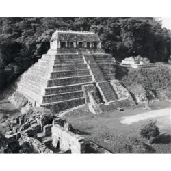 Posterazzi SAL25547010 Temple of the Inscriptions Palenque Mayan Mexico Poster Print - 18 x 24 in.