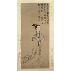 The Moon Goddess Chang E Poster Print by Unidentified Artist (18 x 24)