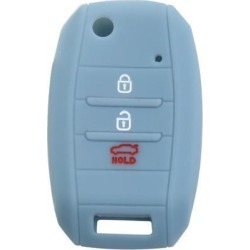 Car Keyless Entry Remote Key Case Holder Shell 3/4 Button Gray Blue for Kia found on Bargain Bro Philippines from Newegg Canada for $7.35