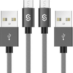 Micro USB Cable Android Charger - Syncwire [2-Pack 3.3 ft] Super-Durable.