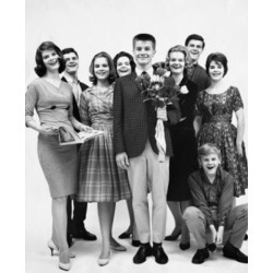 Posterazzi SAL2558411 Portrait of a Group of People Smiling Poster Print - 18 x 24 in.