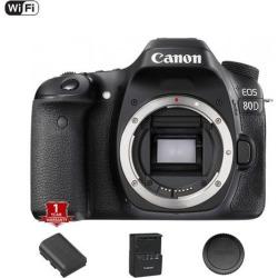 Canon EOS 80D DSLR Camera (Body Only) (International Model)