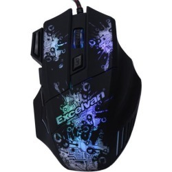 3200DPI LED Optical 7 Buttons 7 colors LED Adjustable USB Wired Gaming Mouse Pro Gamer Computer Mice For PC