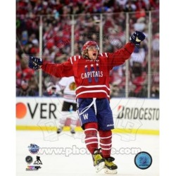Posterazzi PFSAARP03401 Alex Ovechkin 2015 Nhl Winter Classic Action Sports Photo - 8 x 10 in.