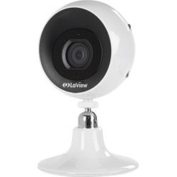 LaView Wi-Fi 1080P Outdoor Security Camera with Micro SD On-Board Storage, Two-Way Audio, Night Vision, Weatherproof, Motion Detection, Free Remote.
