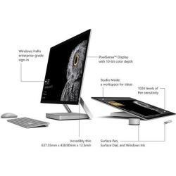 Microsoft All-in-One Computer Surface Studio 45U-00001 Intel Core i7 6th Gen 6820HQ (2.70 GHz) 32 GB DDR4 2 TB HDD 28' Touchscreen Windows 10 Pro.