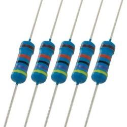 Unique Bargains Unique Bargains 500x 1/2 Watt Axial Metal Film Resistor 470K Ohm 1/2W 1%
