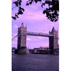 Tower of London Bridge London England Poster Print by Bill Bachmann (25 x 37)