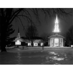Posterazzi SAL255424169 USA Michigan Franklin Church Poster Print - 18 x 24 in.