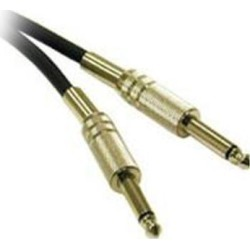 C2G Model 40067 25 ft Pro-Audio 1/4in Male to 1/4in Male Cable