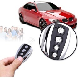 433 MHz Remote Control Cloning Gate Keychain Home Electronic Accessories For Garage Door Car Alarm