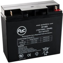 Daytona 3 GT S35006GT 12V 18Ah Electric Scooter Battery - This is an AJC Brand Replacement