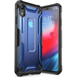 iPhone XR Case, SUPCASE [Unicorn Beetle Series] Premium Hybrid Protective TPU and PC Clear Case for iPhone XR 6.1 Inch 2018 Release (Blue)