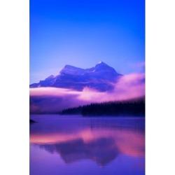Posterazzi DPI1801598LARGE Maligne Lake Jasper National Park Alberta Canada Poster Print by Corey Hochachka, 22 x 34 - Large