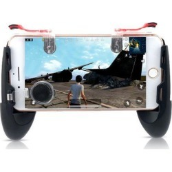 Game Gamepad for Mobile Phone Game Controller + Auxiliary Quick Button for IPhone