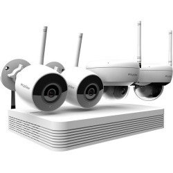 LaView Wi-Fi Wireless 1080P IP Camera Security System, 8-channel H.265 NVR w/ 1080P Output, 2 x 1080P Bullet and 2 x 1080P Dome Full HD In / Outdoor found on Bargain Bro India from Newegg for $458.99