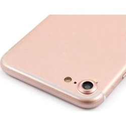 Anti Scratch Back Camera Lens Cover Ring Protector Rose Gold Tone for iPhone 7