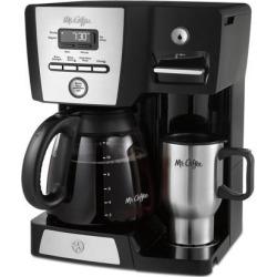 Mr. Coffee Versatile Brew 12-Cup Programmable Coffee Maker and Hot Water Dispenser BVMC-DMX85-RB