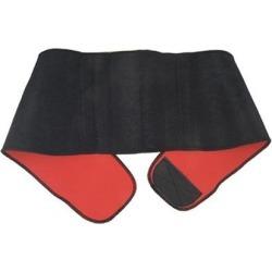 Unique Bargains Detachable Closure Elastic Magnetic Therapy Sports Waist Support Belt Band Brace Black
