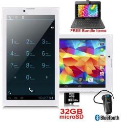 New Indigi® A76 GSM GPS Android 4.4 Unlocked! 7' QHD Smart Phone 3G Dual Sim - Free Bundle Items!