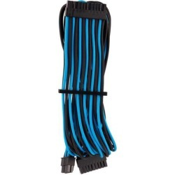 Corsair CP-8920235 Premium Individually Sleeved ATX 24-Pin Cable Type 4 Gen 4 - Black/Blue