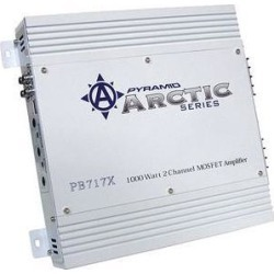 Pyramid 1000W 2 Channels Bridgeable MOSFET Amplifier