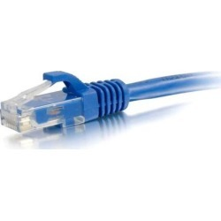 C2g C2g 35ft Cat6a Snagless Unshielded (utp) Network Patch Cable - Blue found on Bargain Bro India from Newegg for $23.80