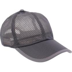 Men Women Mesh Peak Cap Baseball Cap Outdoor Sports Golf Hats Dark Gray