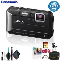 Panasonic Lumix DMC-TS30 Digital Camera Deluxe Kit