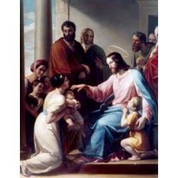 Posterazzi SAL9009230 Christ & the Children by Peitro Benevenuti 1769-1844 Poster Print - 18 x 24 in.