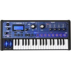 Novation MiniNova 37-Key Compact Studio Live Sound USB MIDI Keyboard Synthesizer