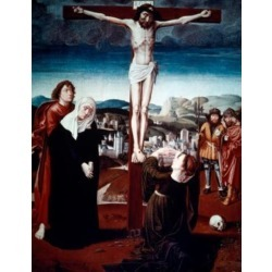 Posterazzi SAL9008918 The Crucifixion by Gerard David 1460-1523 Poster Print - 18 x 24 in.