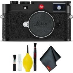 Leica M10 Digital Rangefinder Camera (Black) Basic Bundle