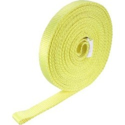 18 feet Lifting Straps 2200 lbs Lift Sling Tow Rope Eye to Eye Webbing Sling