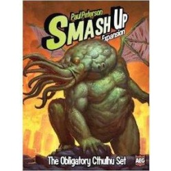 Alderac Entertainment Group AEG5503 Smash Up The Obligatory Cthulhu Expansion Card Game