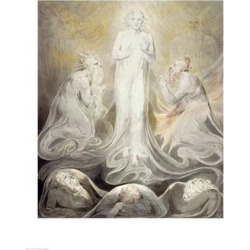 Posterazzi BALBAL25409LARGE The Transfiguration Poster Print by William Blake - 24 x 36 in. - Large