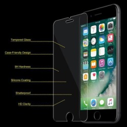 iPhone 6 plus Screen Protector Superior Protection Tempered Glass Screen Cover for iPhone 6s plus