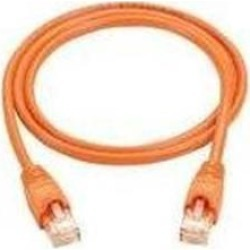 Black Box CAT5e Value Line Patch Cable, Stranded, Orange, 1-ft. (0.3-m)