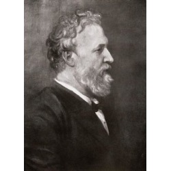 Posterazzi DPI1862213 Robert Browning 1812-1889 English Poet From the Book the Year 1912 Illustrated Published London 1913 Poster Print, 12 x 17