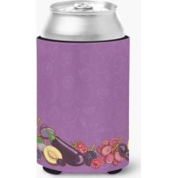 Fruits and Vegetables in Purple Can or Bottle Hugger BB5132CC